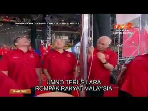 Lagu UMNO versi Najib penipu