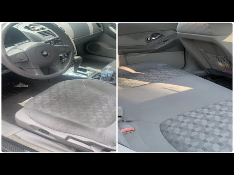 HOW TO CLEAN DIRTY CAR INTERIOR IN UNDER 5 MINS!
