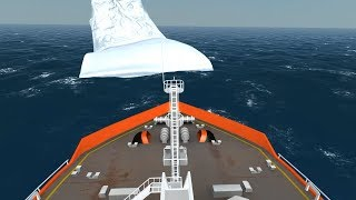 Ocean  Prince collides with Iceberg | Ship Simulator Extremes in 1080p 60FPS