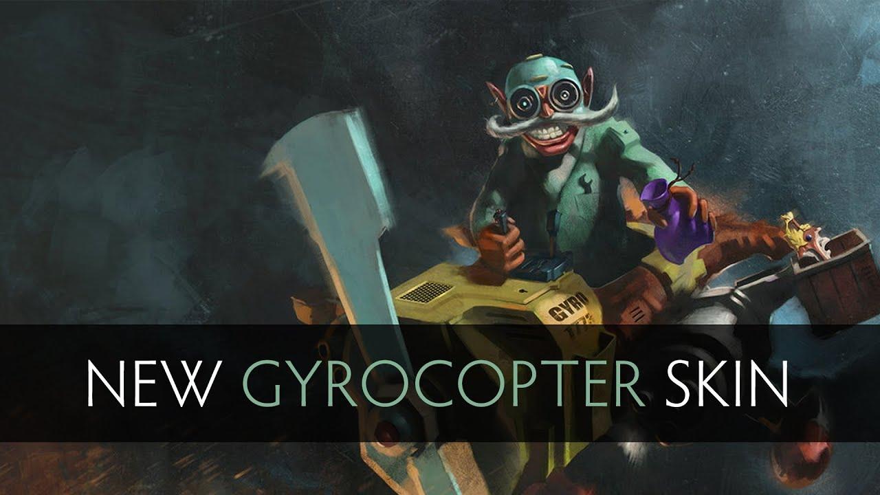 Dota 2 New Gyrocopter ...