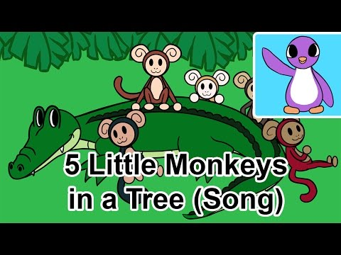 5 Little Monkeys Swinging in a Tree (Song) - Bright New Day Productions