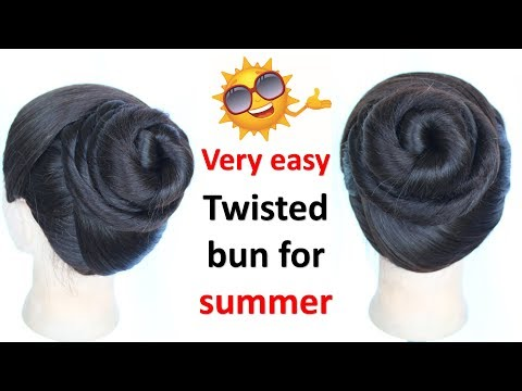 Very Easy Summer Juda Hairstyle
