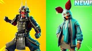 NEW! Fortnite LEAKED SKINS! (DEMON ONI SAMURAI) Fortnite Battle Royale
