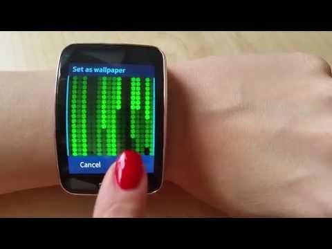 Matrix Clock S for Samsung Gear S ( Animated )