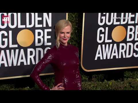 Nicole Kidman is ageless in burgundy gown at 2019 Golden Globes