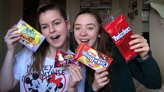 Trying American Candy!