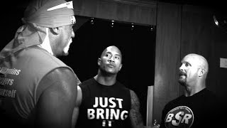Three icons share a moment: WrestleMania 30 Exclusive, April 6, 2014