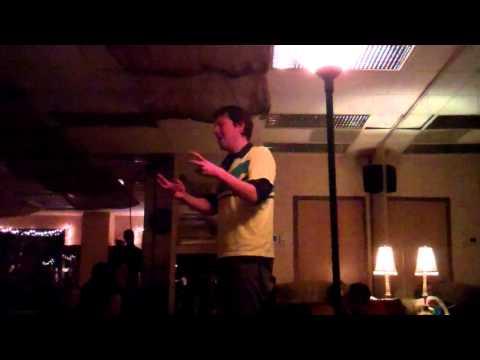 Jon Sands - On the Bus in Queens - Hear Here Poetry - Jan. 12, 2013