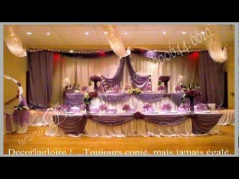 D corations de mariage montr al d cor pour mariage montr a 1800 yo - Decoration pour mariage ...