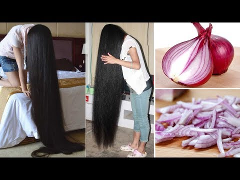 Super fast Hair Growth Remedy with Onion