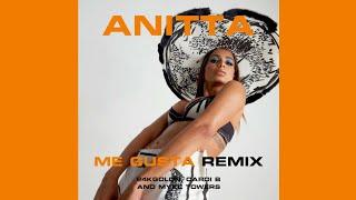 Anitta - Me Gusta (Remix) ft. 24KGOLDN, Cardi B and Myke Towers