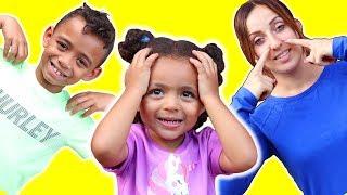Head, Shoulders, Knees and Toes - Exercise Nursery Rhymes Songs for kids