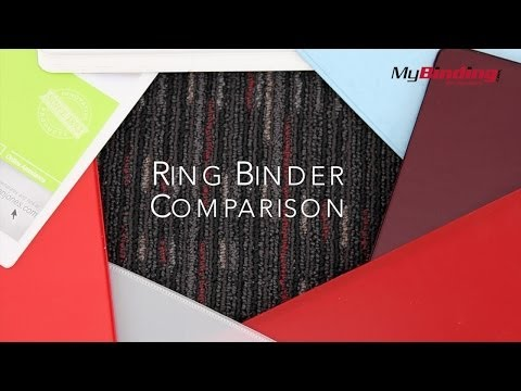 Ring Binder Comparison