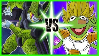 Perfect Cell Vs Saiyan Elite Kermit
