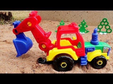 Мультик про трактора и машины. Все серии подряд