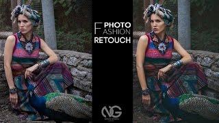 Ретушь Fashion фотографии. Видеоурок.