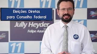 Jully Heyder - Candidato à presidência da OAB/MS