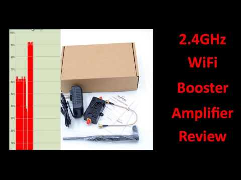 Testing a 4w Wifi Booster Amplifier from China