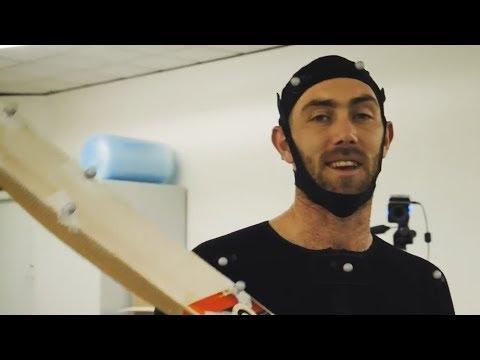 GLENN MAXWELL MOTION CAPTURE!!! - Ashes Cricket