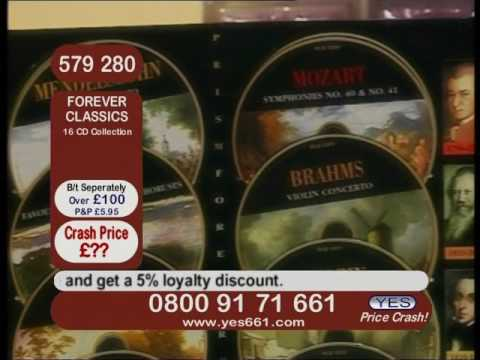 PRICE CRASH TV - ARCHIVE UK SHOPPING CHANNEL