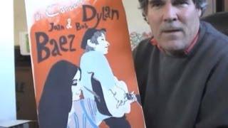 Bob Dylan Joan Baez Concert Poster 1965 by Eric Von Schmidt