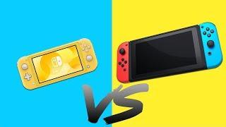 Nintendo Switch LITE czy Nintendo Switch? KTÓRĄ KONSOLĘ WYBRAĆ?