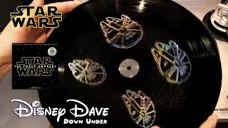 STAR WARS: THE FORCE AWAKENS 2 LP HOLOGRAM Vinyl (3D HOLOGRAPHIC EXPERIENCE) | Music Review Unboxing
