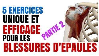 Musculation: 5 Exercices  Indispensables Pour les Blessures d'épaules: Partie 2