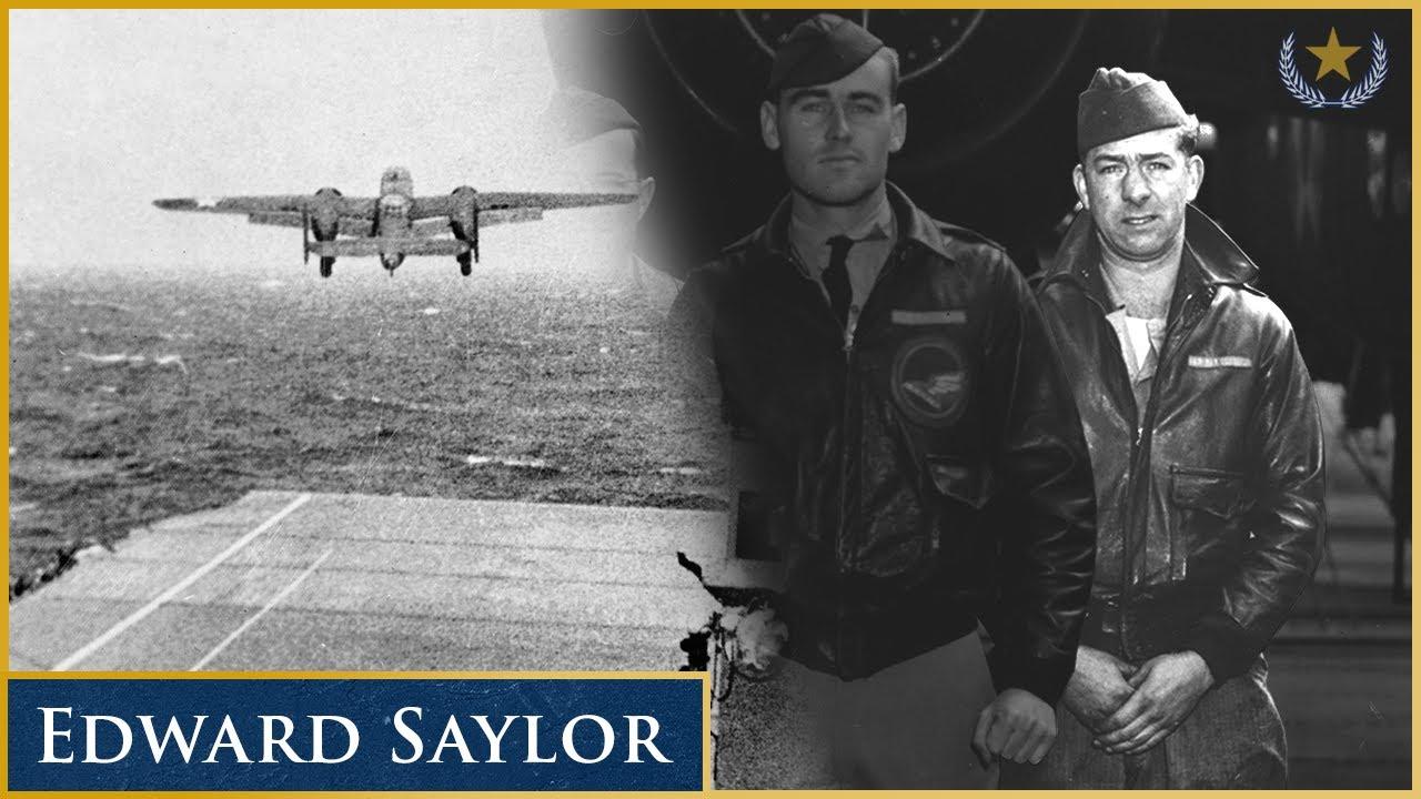 Doolittle Raider Edward Saylor Remembers Bombing Japan in Top Secret Mission