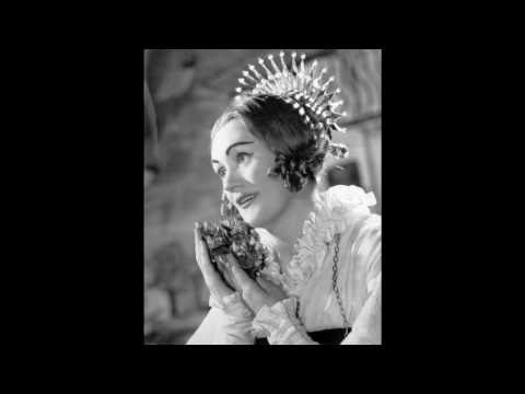 [1960 live] Joan Sutherland -  La Sonnambula, Act 1 - Debut Performance