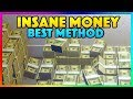*NEW* BEST SOLO MONEY TRICK IN GTA ONLINE - How To Make MONEY Fast! *WORKING* PS4/XB1/PC (GTA V)