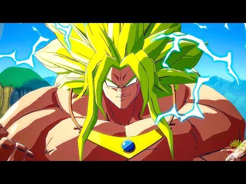 Dragon Ball Fighter Z - Broly God Dramatic Finish (MOD)