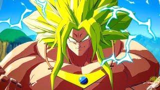 Dragon Ball Fighter Z - Broly God Dramatic Finish (MOD)