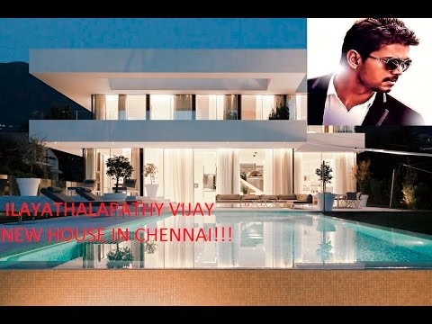 Ilayathalapathy Vijay New House In Chennai!!!vijay Fans Must Watch...others  Please Donu0027t Open!!   YouTube Part 77
