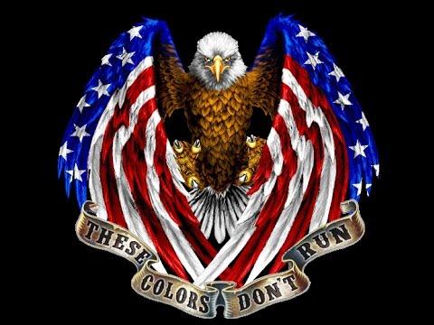 Patriotic Eagle tattoo - YouTube