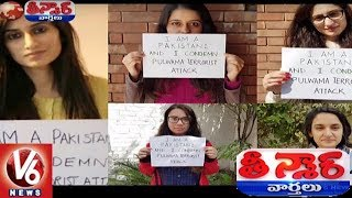 Pakistani Girls Condemn Pulwama Incident | Teenmaar News | V6 News