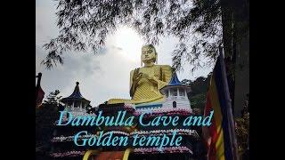Srilanka Dambulla Golden and Cave Temple