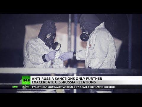 RT America: Skriplal Sanctions Threaten US-Russia Relations