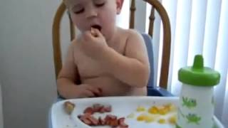 Cute Baby Sleeping Funny Video