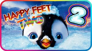 Happy Feet Two Walkthrough Part 2 (PS3, X360, Wii) ♫ Movie Game ♪ Level 4 - 5
