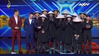 Những chàng trai, cô gái việt Nam tỏa sáng tại Britain's Got Talent  rất đặc sắc của Việt nam .