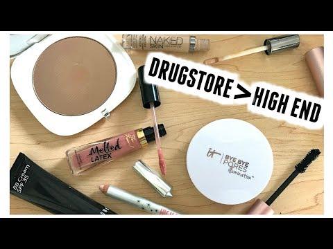 BEYOND DUPES | Drugstore Outperforming High End Makeup