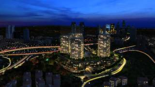 Zorlu Center 3D Render