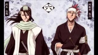Kuchiki Byakuya & Abarai Renji - Sen no Yoru wo Koete w/Lyrics
