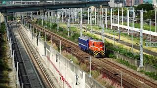 2018.05.23 高雄機廠通勤列車7213次通過(新左營站 - 左營站)