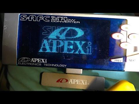 FC RX7 Apexi SAFC Install