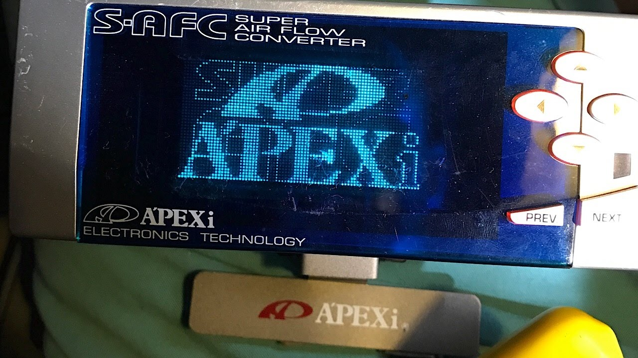hight resolution of fc rx7 apexi safc install