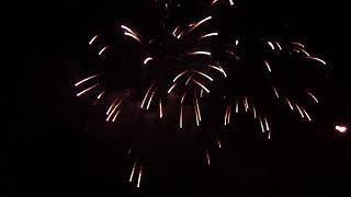 Fuochi d'artificio Rainbow Magicland del 21 luglio 2018