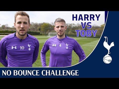 No Bounce Challenge ! FT Harry Kane + Toby Alderweireld