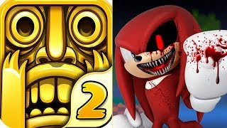 Temple Run 2 vs SONIC EXE Knuckles